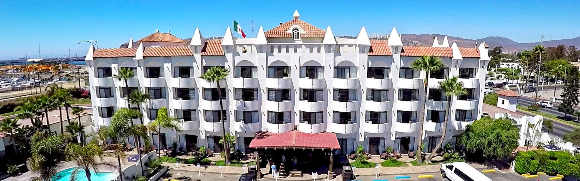 Hotel Corona en Ensenada Baja California