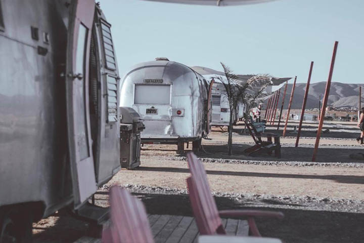 Ruta Arte Airstreams Glamping Baja California Ensenada